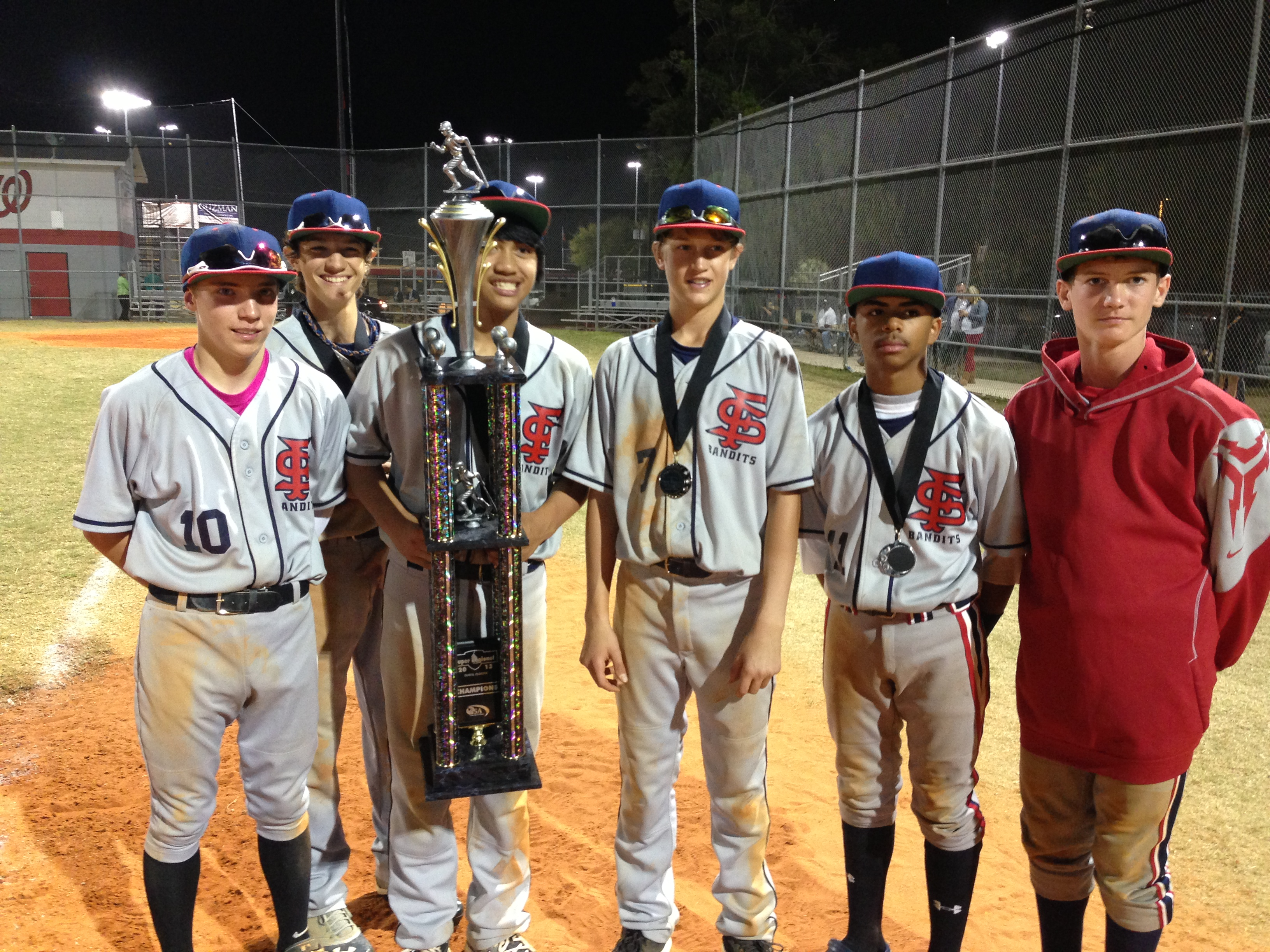 ... 14U tournament in Bartow, FL and came out victors -January 2013
